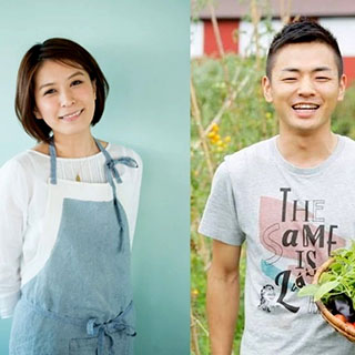 SHIORIとYOSHIKIのカンタン・おいしい!野外料理教室